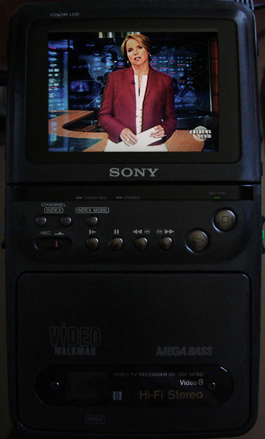 Sony GV 300 photographed July 8, 2010