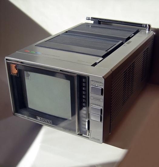 Sony KV-5300 Trinitron Color TV/Monitor photographed November 2, 2011