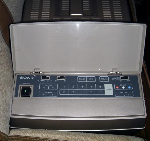 Sony Vidimagic FP 62 Control Panel/Case photographed April 25, 2011