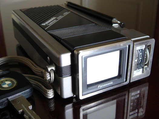 Panasonic Travelvision 1030P photographed April 22, 2010