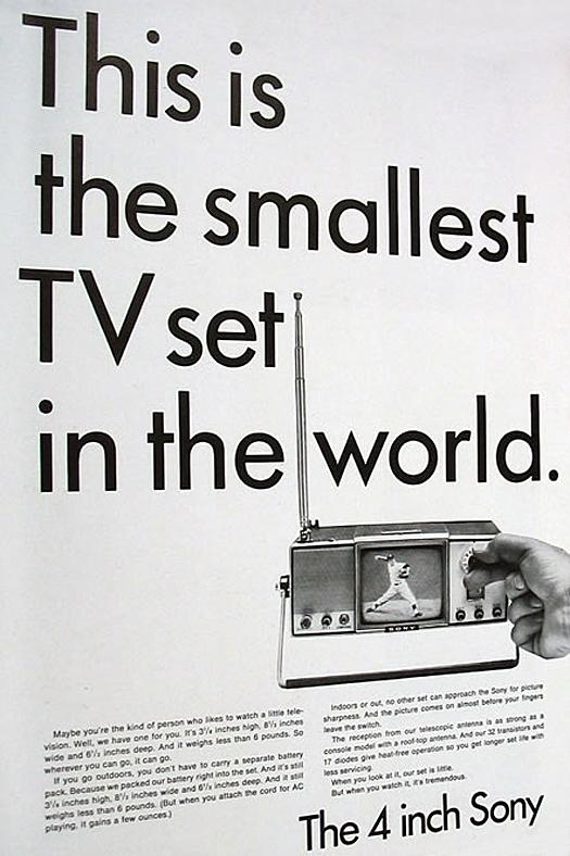 Sony Advertisement