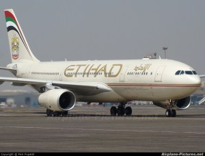Ethihad Airbus A330-200
