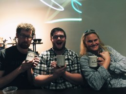 Our judges love their new Prevail Coffee mugs.