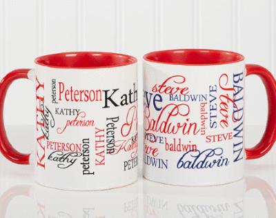 Your Signature Style Personalized Coffee Mug