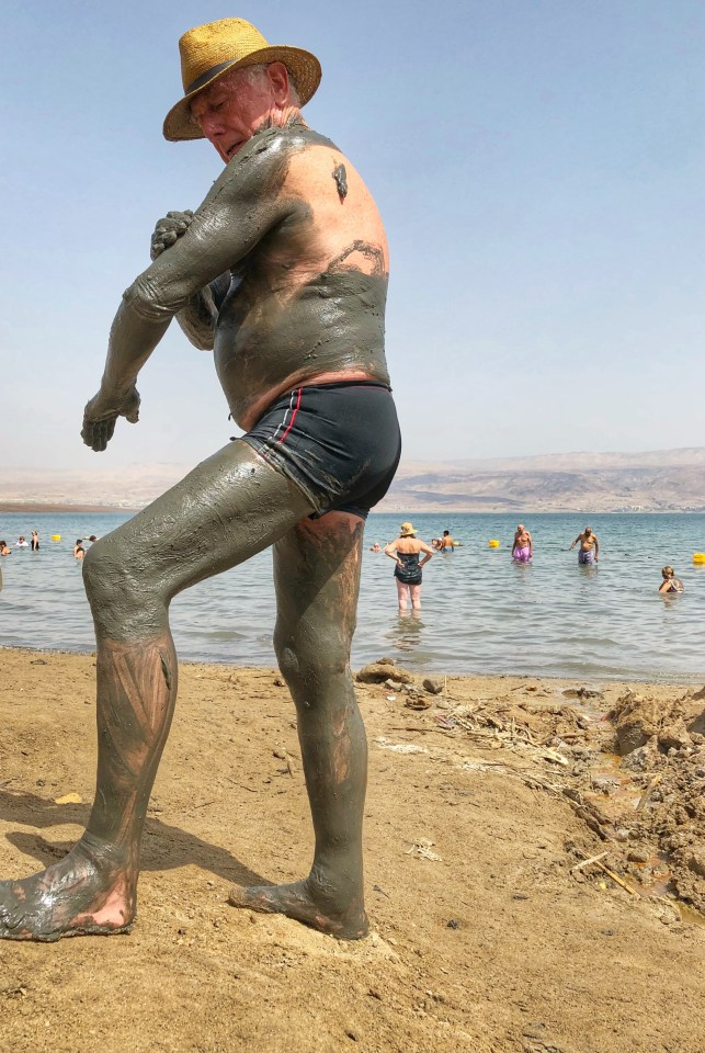 The Dead Sea, Mud Man