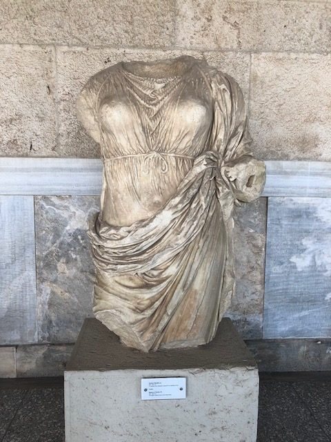 Headless statue, Athens