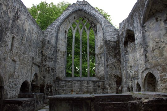 27. Muckross Abbey, Kerry, Ireland