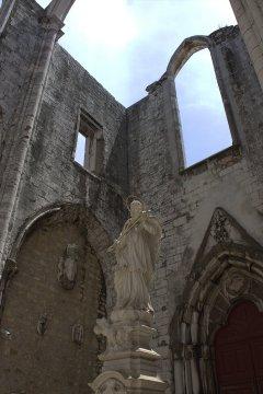12. Carmo Convent, Lisbon, Portugal