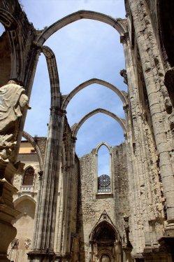 16. Carmo Convent, Lisbon, Portugal