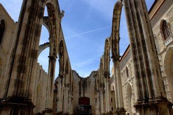 23. Carmo Convent, Lisbon, Portugal
