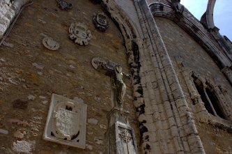 26. Carmo Convent, Lisbon, Portugal