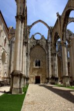 38. Carmo Convent, Lisbon, Portugal