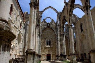 39. Carmo Convent, Lisbon, Portugal