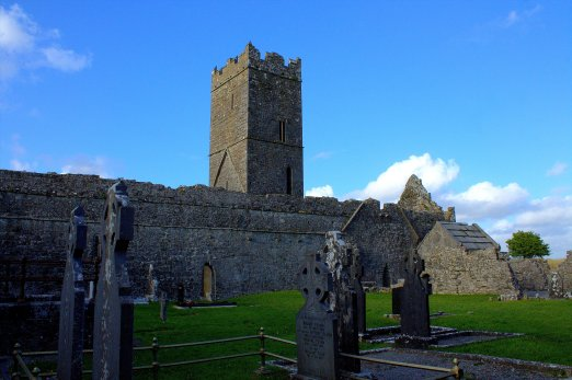 14. Clare Abbey, Clare, Ireland
