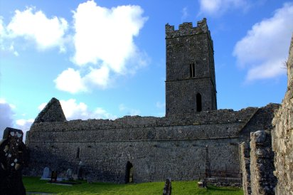 19. Clare Abbey, Clare, Ireland