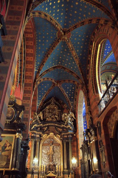 26. St Mary's Basilica, Krakow, Poland