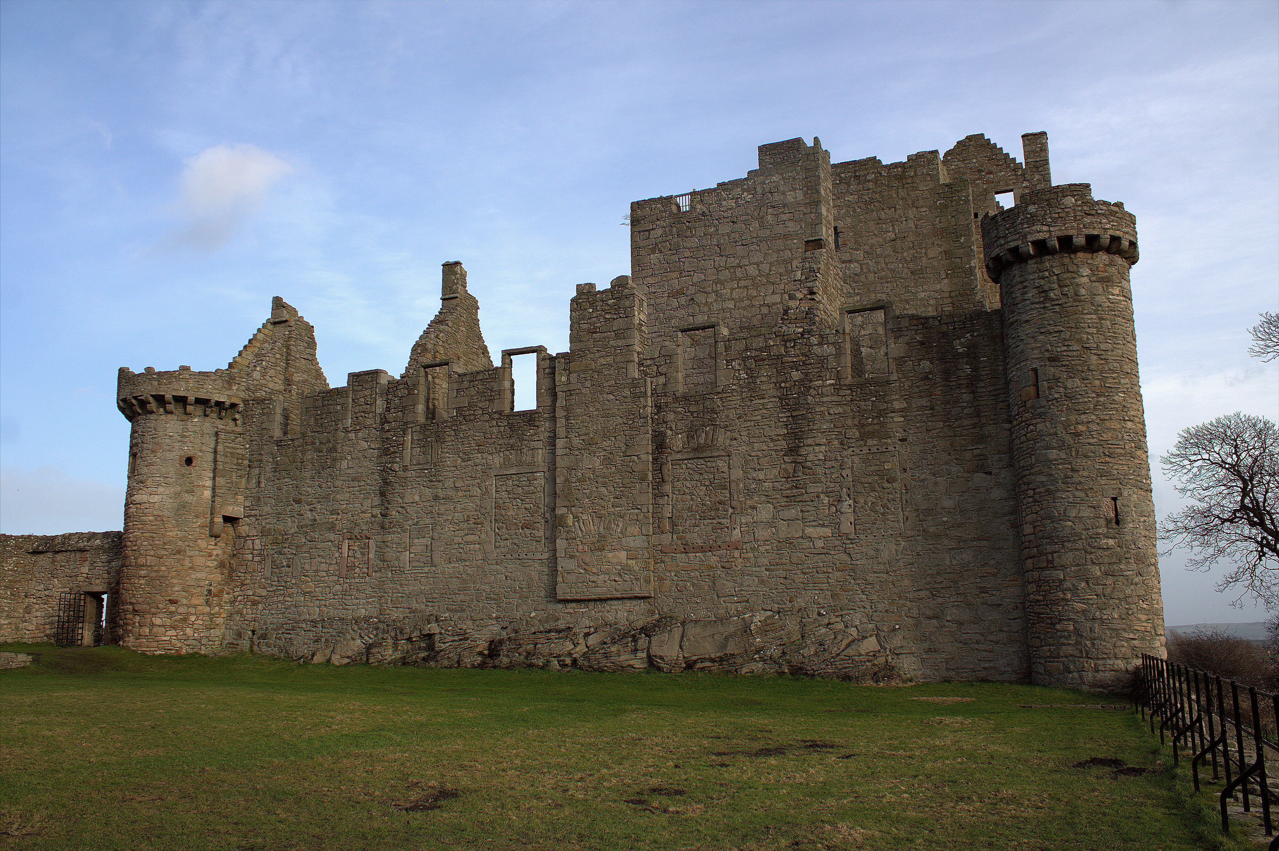49. Craigmillar Castle, Edinburgh, Scotland