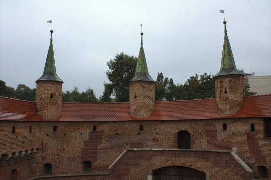21. Barbican, Florian's Gate & City Walls, Krakow, Poland