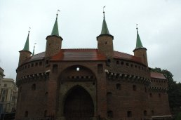 24. Barbican, Florian's Gate & City Walls, Krakow, Poland