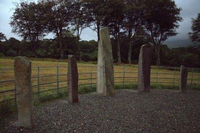 01. Dunloe Ogham Stones, Kerry, Ireland