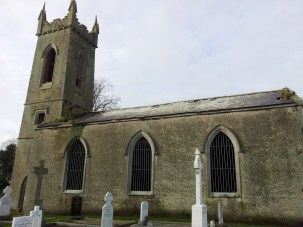 09. Dromiskin Monastery, Round Tower and High Cross, Co Louth
