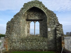 13. Dromiskin Monastery, Round Tower and High Cross, Co Louth
