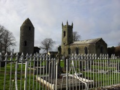 15. Dromiskin Monastery, Round Tower and High Cross, Co Louth