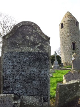 23. Dromiskin Monastery, Round Tower and High Cross, Co Louth