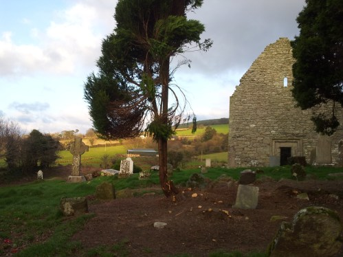 40. Aghowle Church, Co. Wicklow