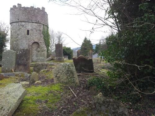 16. Cruagh Watchtower & Graveyard, Co. Dublin