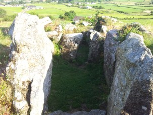 10. Ballymacdermot Court Tomb, Co. Armagh