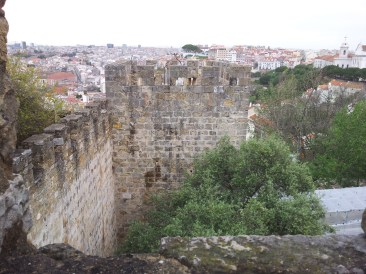 61. Castle of St. George, Lisbon, Portugal