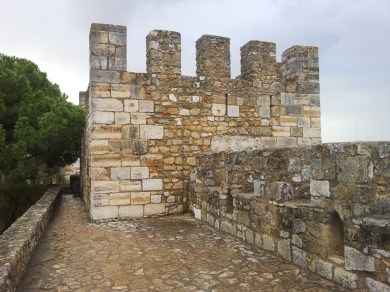 67. Castle of St. George, Lisbon, Portugal