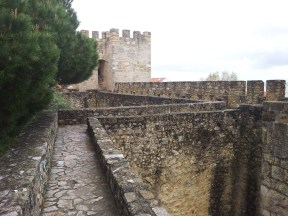 73. Castle of St. George, Lisbon, Portugal