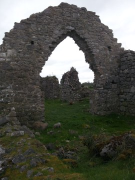 24. Rindoon Abandoned Medieval Town, Co. Roscommon
