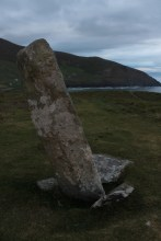 04. Coumeenoole Ogham Stone, Co. Kerry