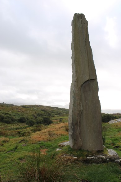 06. Ballycrovane Ogham Stone, Co. Cork