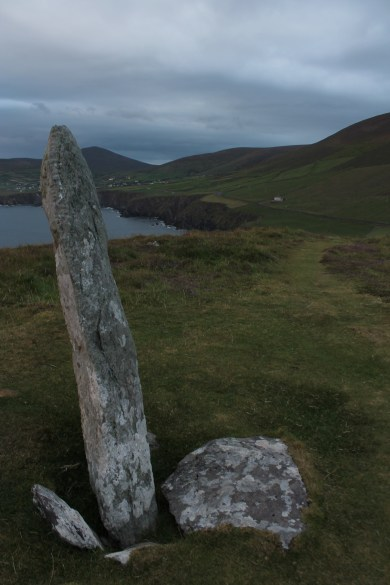 06. Coumeenoole Ogham Stone, Co. Kerry