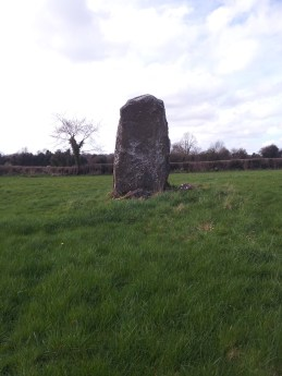 01. Bolart North Standing Stone, Co. Offaly