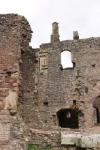 22. Raglan Castle, Monmouthshire, Wales