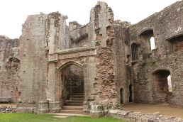 26. Raglan Castle, Monmouthshire, Wales