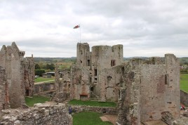 31. Raglan Castle, Monmouthshire, Wales