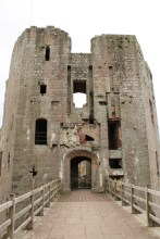 35. Raglan Castle, Monmouthshire, Wales