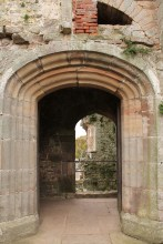 36. Raglan Castle, Monmouthshire, Wales