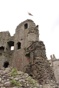 46. Raglan Castle, Monmouthshire, Wales