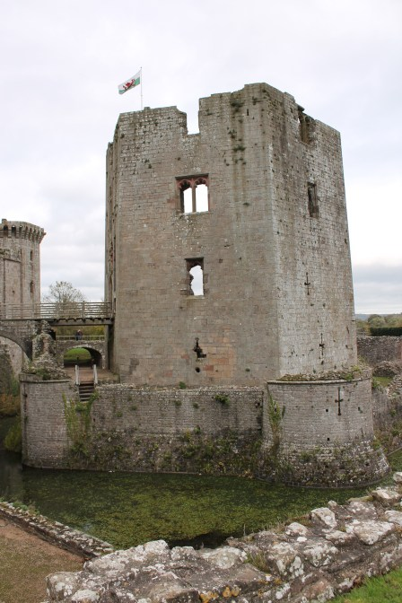 51. Raglan Castle, Monmouthshire, Wales