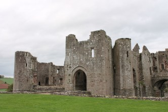 52. Raglan Castle, Monmouthshire, Wales