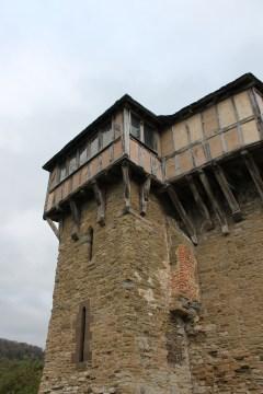 57. Stokesay Castle, Shropshire