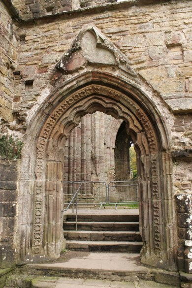 38. Tintern Abbey, Monmouthsire, Wales