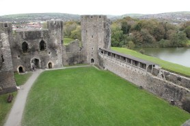 22. Caerphilly Castle, Wales